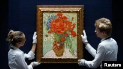 Piktura e shitur e Van Gogh