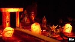 Отворање на фестивал на античка драма Стоби .