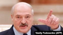 Аляксандар Лукашэнка на сустрэчы з расейскімі журналістамі 14 сьнежня
