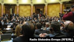 """Во Белград беше одржана прва регионална конференција на тема """"Енергија, развој и демократија"""" како јавна дебата за енергетската иднина на Југоисточна Европа."""