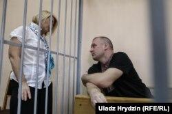Дмитро Галко з адвокатом на суді, 10 липня 2018 року
