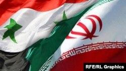 Iran -- Iran Syria combo flags (flag)