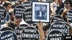 İstanbulda «Hamımız erməniyik, hamımız Hrant Dinkik!» şüarı ilə keçirilən aksiya, 2 iyul 2007-ci il