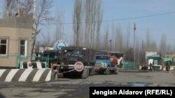Дорога в анклав Сох.