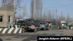 Пограничный пост в анклаве Сох.