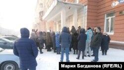Протест против закрытия роддома в Кемерове