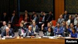 Экстренное заседание Совета Безопасности ООН 14 апреля 2018 года