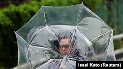 У Японії сильні зливи