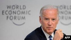 Vicepreședintele Joe Biden la World Economic Forum (WEF), Davos