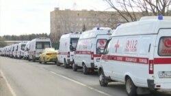 Zastoj Hitne pomoći ispred moskovskih bolnica