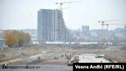 Gradilište 'Beograda na vodi'