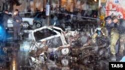 У Махачкале ня першы год гучаць выбухі. Фота 2004 году.