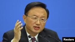Глава МИД Китая Ян Цзечи