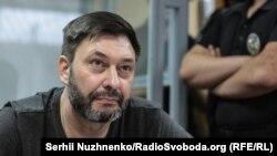 Кирило Вишинський, керівник «РИА-Новости Україна», засідання суду, Київ, 3 липня 2019 року