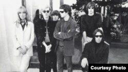 Velvet Undeground и Криста Паффген. Фото конца 1960-х лет