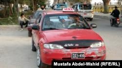 سيارة أجرة في كربلاء