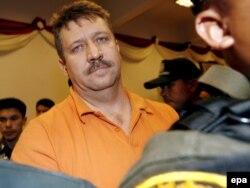 Viktor Bout, 44-vjeçar,ishte kapur në Tajlandë, në vitin 2008, nga agjentët e SHBA-ve.