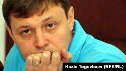 Игорь Винявский, «Взгляд» газетінің бас редакторы. Алматы, 30 маусым 2011 жыл.