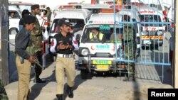 Припадници на безбедносните сили во Пакистан.