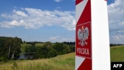 Польский пограничный столб