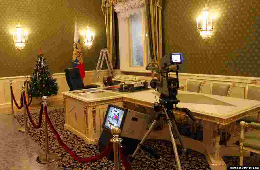 Yeltsin's office...
