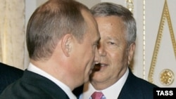 Putin və Kraft 2005-ci ildə