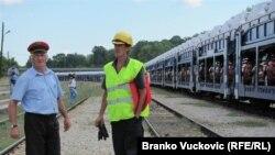 Izvoz koji se transportuje ka luci Bar u Crnoj Gori