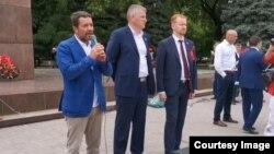 Митинг КПРФ в Черкесске, 15 июля 2019 года