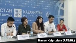 Активисты движения «Oyan, Qazaqstan».