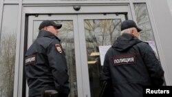 Полицейские в Москве. Иллюстративное фото.