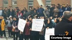 اعتراض به برنامه «فیتیله» در دانشگاه تبریز
