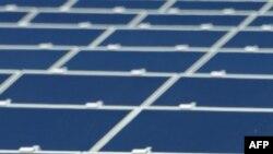 Панели солнечной электростанции