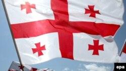 Flamuri i Gjeorgjisë - foto ilustruese