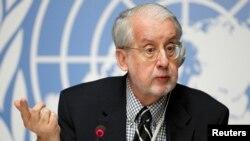 Председатель Комиссии ООН по расследованию приминения химоружия в Сирии Пауло Пиньеру.