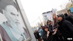 Антисаудовская демонстрация в Тегеране (8 января 2016 года)