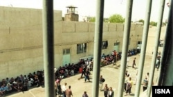 This undated photo shows a prison in Ahvaz. FILE PHOTO