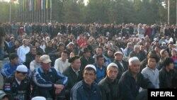 Бишкектеги Орозо айт намазы. 20-сентябрь, 2009-жыл