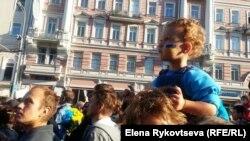 Марш миру в Москві, 21 вересня 2014 року