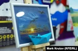Картины для украинских моряков нарисовали жители всех регионов Украины