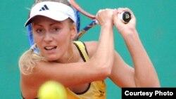 Теннисистка Ксения Первак. Фото предоставлено Федерацией тенниса Казахстана.