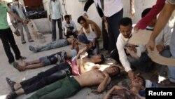Повредени демонстранти во Јемен