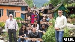 Međunarodni eko kamp u užičkom selu Zlakusa, 29.07.2010.