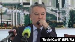 Насим Олимзода, министр здравоохранения и социальной защиты населения Таджикистана