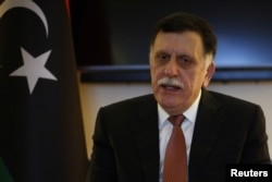 UN-backed Prime Minister Fayez al-Sarraj