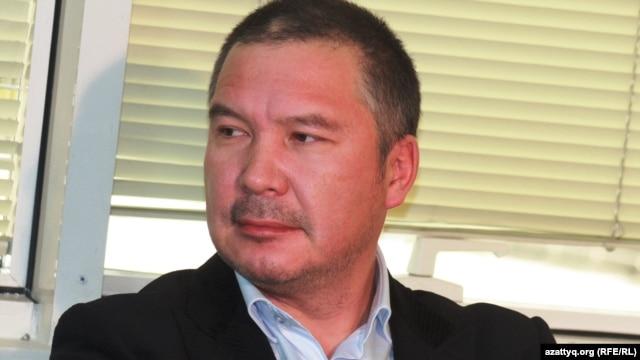 Гражданский активист Серикжан Мамбеталин.