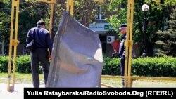 На місці одного з вибухів у Дніпропетровську
