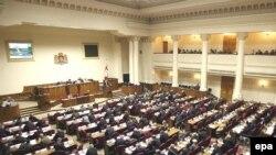 Gürcüstan parlamentinin iclası, 9 noyabr 2007