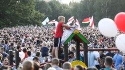 Беларусьте сайлау алындағы ең ірі бейбіт митинг қалай өтті?
