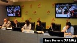 Konferencija o govoru mržnje u komentarima čitalaca, Podgorica, 23. april 2014.
