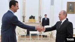 Владимир Путин менен Башар Асад. 21-октябрь, 2015-жыл